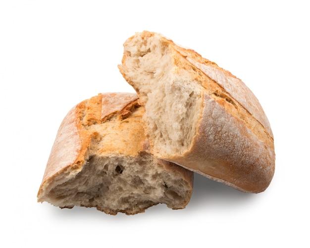 Pão ciabatta isolado
