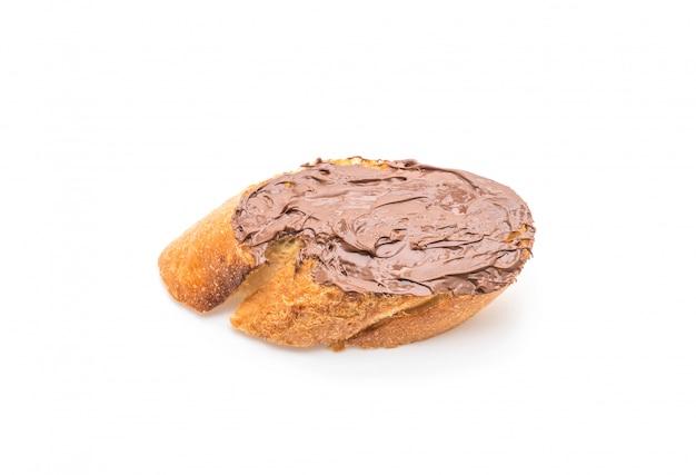 Pão com chocolate avelã