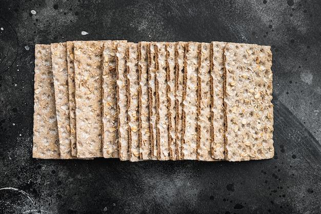 Pão crocante com sementes de girassol, chia e gergelim