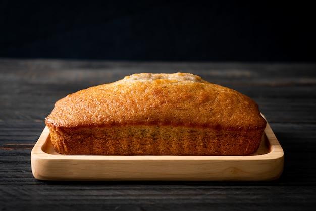 Pão de banana caseiro