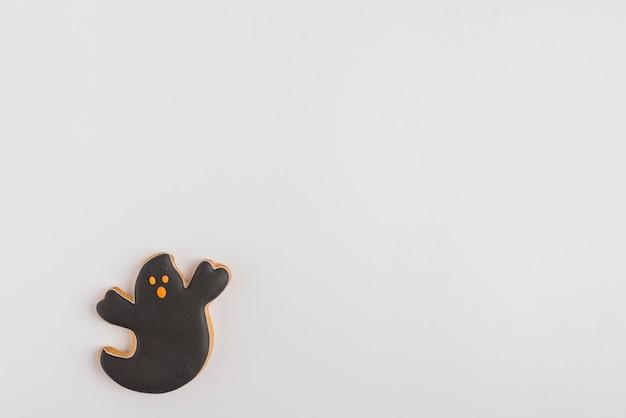 Pão de especiarias fantasma de halloween