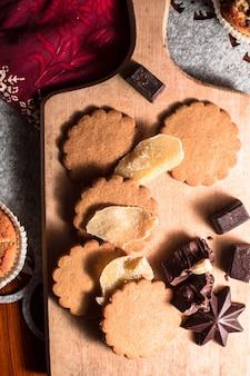 Pão de gengibre e biscoitos