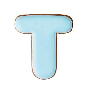 Pão de gengibre em forma de t