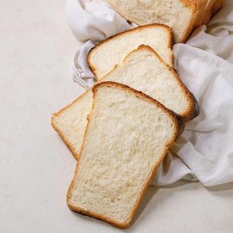 Pão de trigo hokkaido
