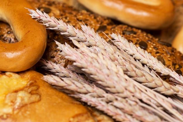 Pão delicioso feito de bom trigo
