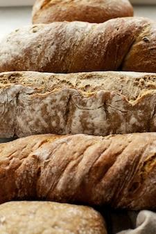Pão em um pano