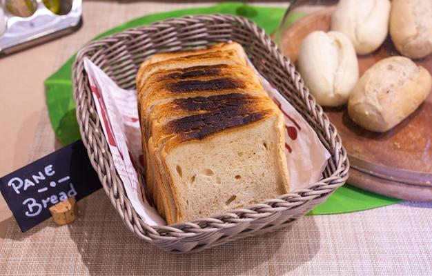 Pão fresco assado
