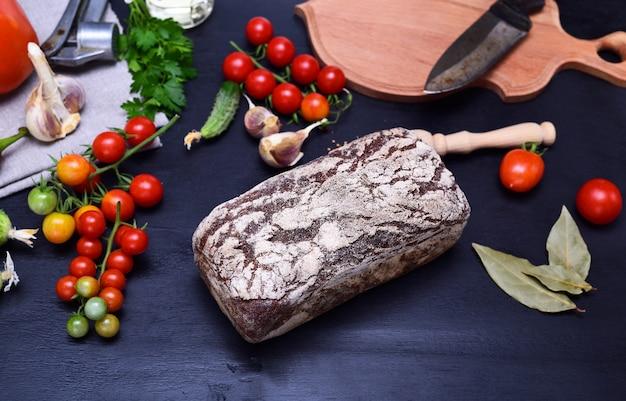 Pão fresco de centeio