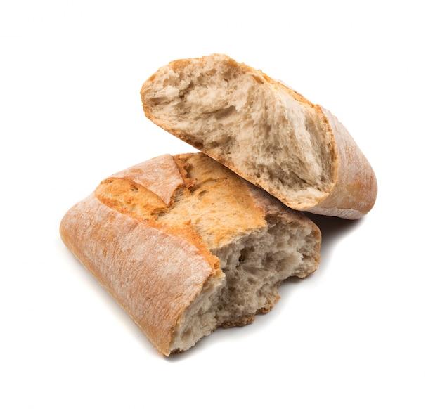 Pão fresco isolado