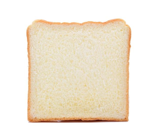Pão isolado no branco.