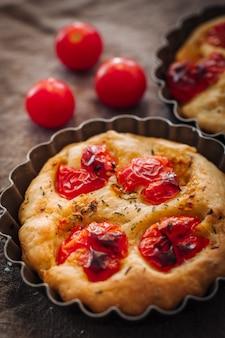 Pão italiano focaccia