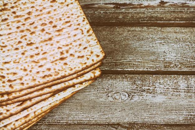 Pão matza para celebração da páscoa