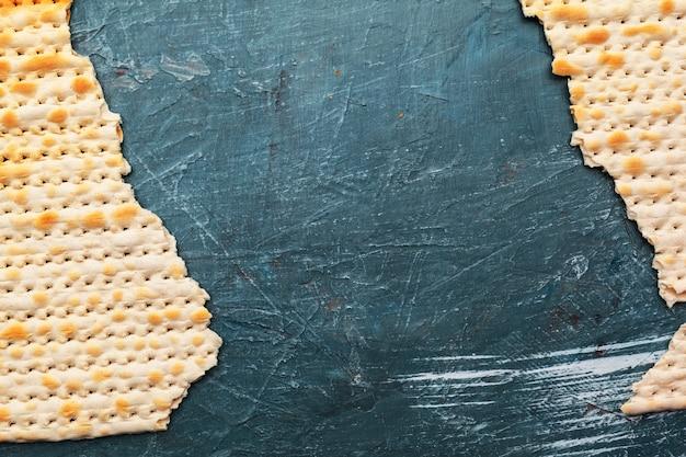 Pão matzo tradicional judaico