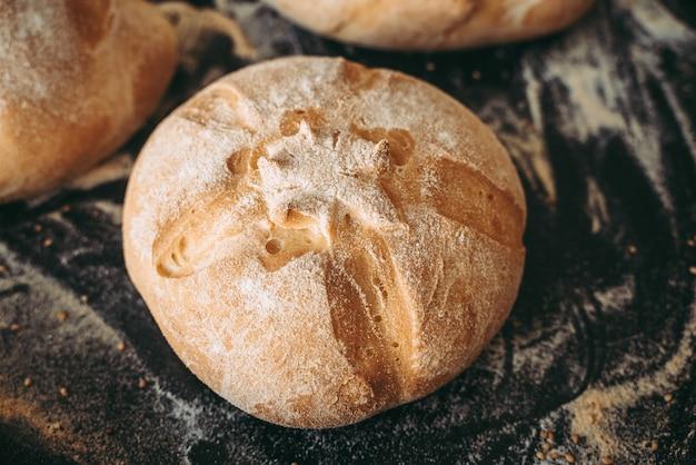 Pão na padaria a padaria