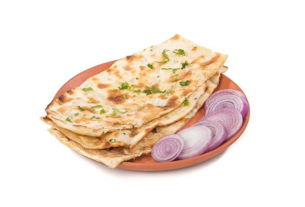 Pão naan indiano