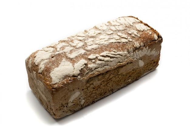 Pão preto isolado