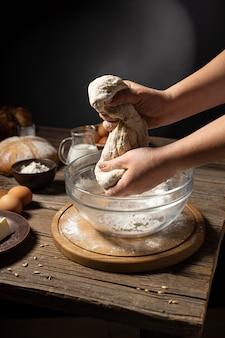 Pão tradicional de fabricação morta