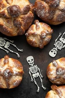 Pão tradicional de variedade morta