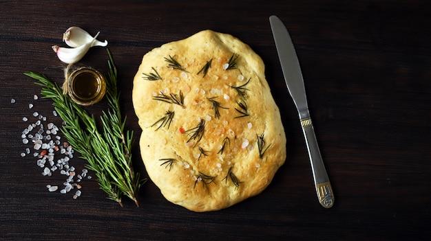 Pão tradicional italiano.