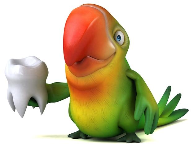 Papagaio divertido