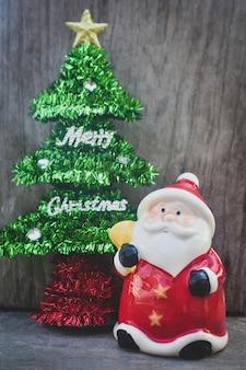 Papai noel e árvore de natal