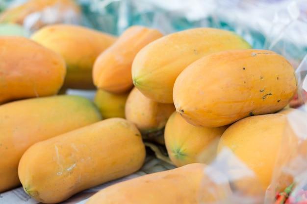Papaias maduras para vender