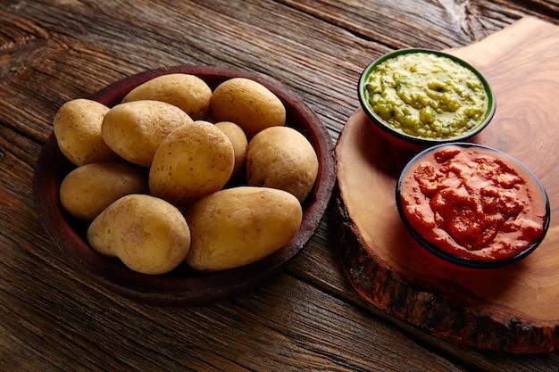 Papas al mojo ilhas canárias batatas enrugadas