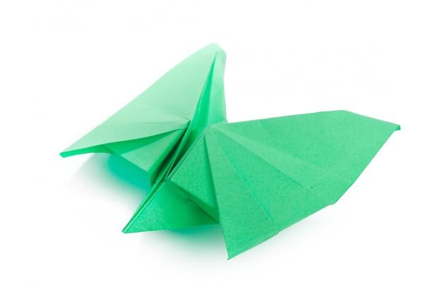 Papéis de origami close-up