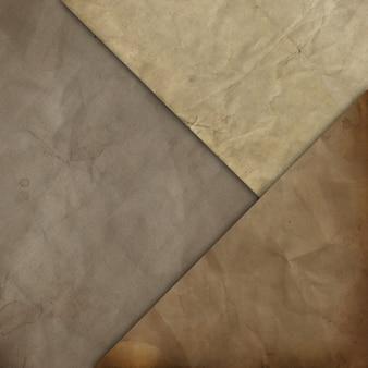 Papéis velhos textura de fundo