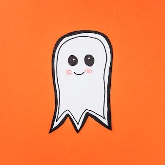 Papel adorável feito fantasma