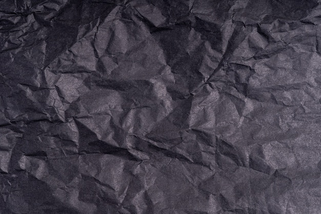 Papel amarrotado escuro