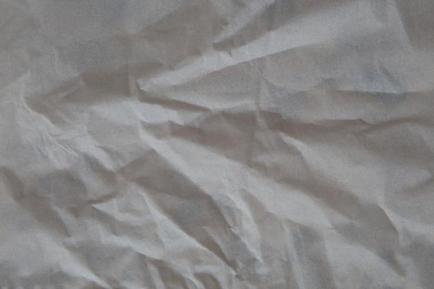 Papel amassado fundo de textura.