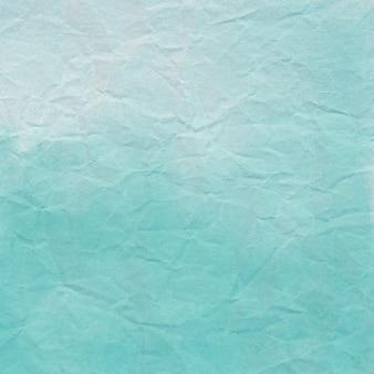 Papel amassado verde para plano de fundo