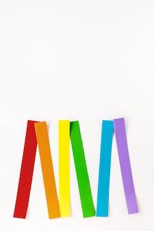 Papel colorido para cópia-espaço