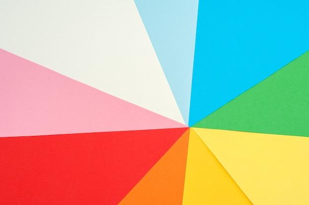 Papel colorido. plano de fundo multicolorido de papel colorido.
