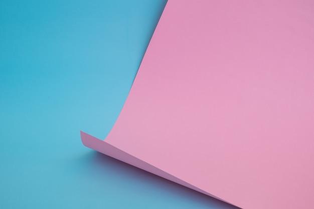 Papel de cor abstrata em formas geométricas
