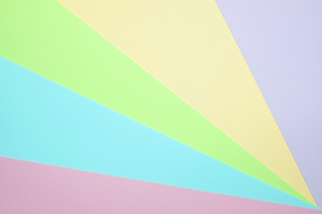 Papel de cor pastel liso leigos fundo de vista superior