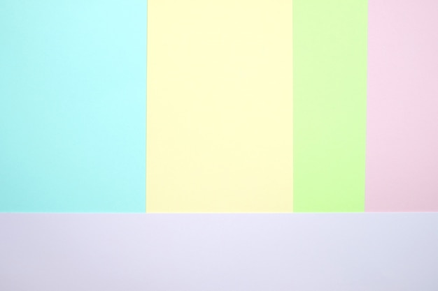 Papel de cor pastel plano fundo