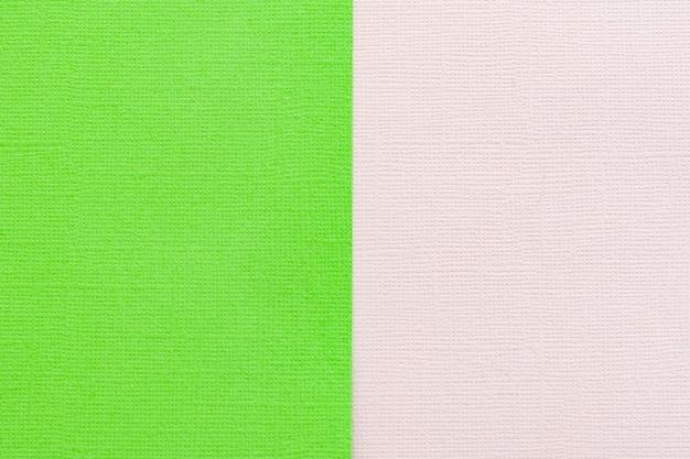 Papel de cor verde e rosa pastel para o fundo