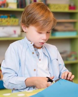 Papel de corte infantil de tiro médio