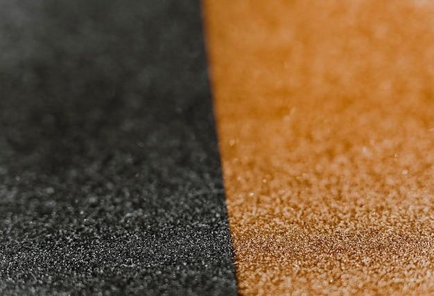 Papel de embrulho dourado e preto reluzente