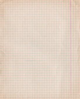 Papel de gráfico sujo vintage