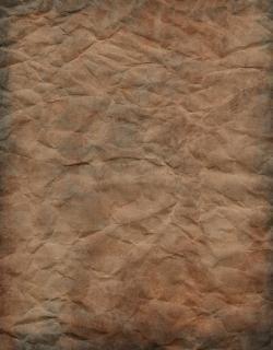 Papel de papel amarrotado
