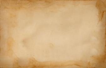 Papel de papiro castanho