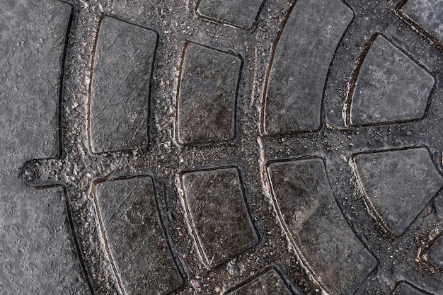 Papel de parede abstrato de superfície metálica