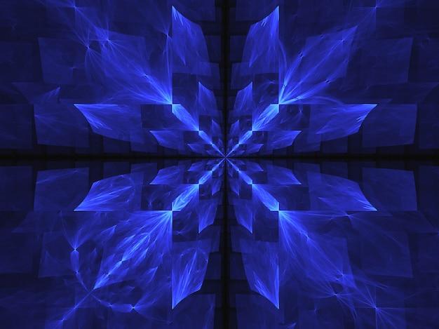 Papel de parede abstrato. fractal abstrato fundo de arte fractal para design criativo