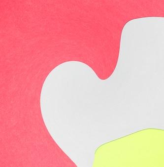 Papel de parede colorido abstrato forma