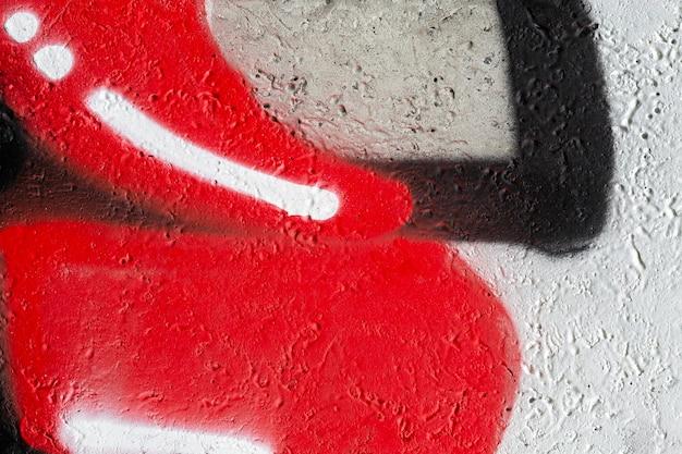 Papel de parede colorido de graffiti mural