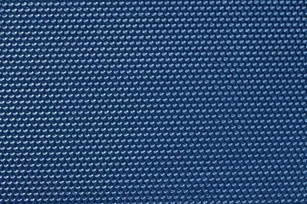 Papel de parede com padrão de favo de mel de cor azul