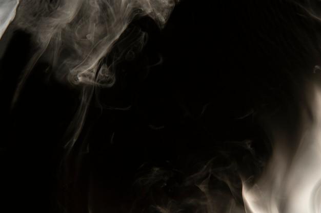 Papel de parede com textura de fumaça, fundo escuro